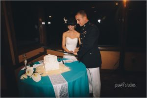 Destin wedding and reception